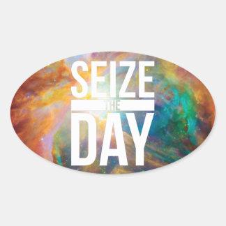 Seize the Day Nebula Stickers