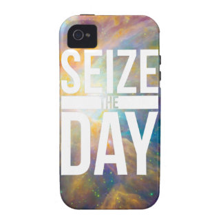 Seize the Day Nebula Vibe iPhone 4 Covers