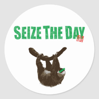 SEIZE THE DAY STICKERS