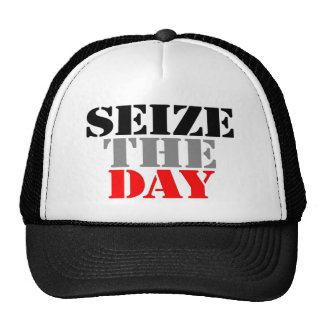 Seize the Day Trucker Hat