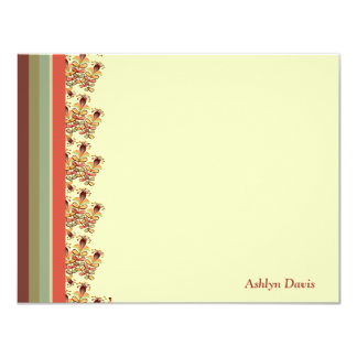 Seize the Moment Personalized Stationery Card