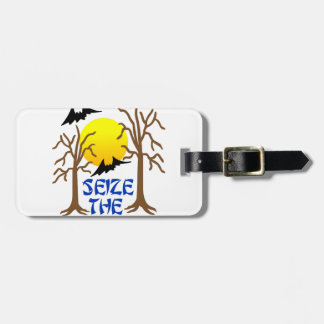 Seize The Night Tag For Luggage