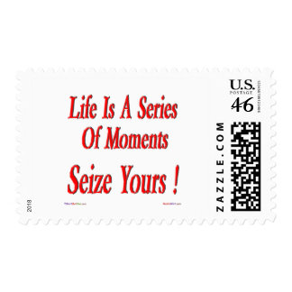 Seize Your Moment Postage Stamps