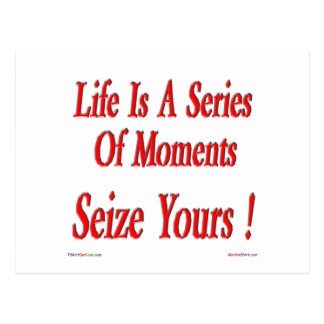 Seize Your Moment! Postcard