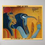 Sekhmet and Thoth Print