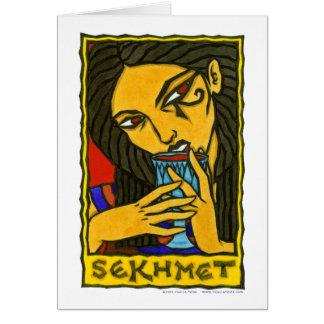 Sekhmet Stationery Note Card