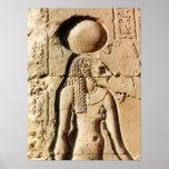 Sekhmet cat goddess of Upper Egypt Print