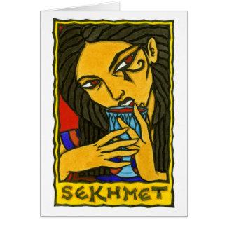 Sekhmet Greeting Card