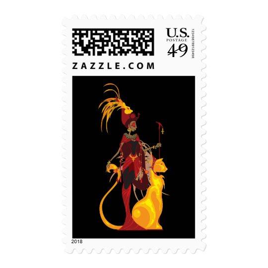 Sekhmet Postage Stamps
