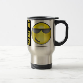 Seki A! Smiley Travel Mug
