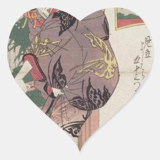 Seki: Shiratama of the Sano-Matsuya Keisai Eisen Heart Sticker