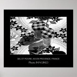 SEL ET POIVRE, AIX-EN-PROVENCE, FRANCE POSTER