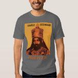 Selassie Hail H.I.M. Tshirts