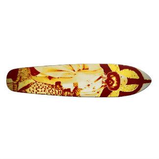 Selassie Rasta Reggae Ethiopia Skateboard