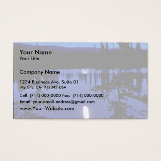 Selawik Moonscape Business Card