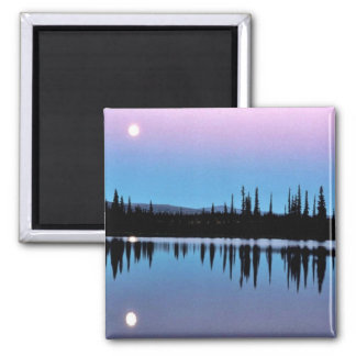Selawik Moonscape Over Water Refrigerator Magnets