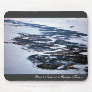 Selawik River in Winter Mouse Pads