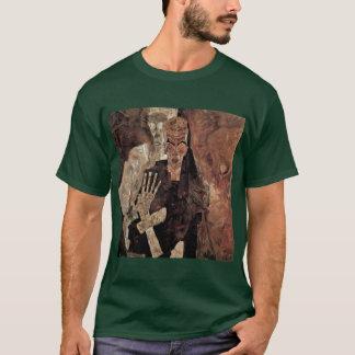 Selbstseher o muerte y hombre de Schiele Egon Playera