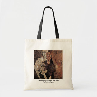 Selbstseher Or Death And Man By Schiele Egon Tote Bag