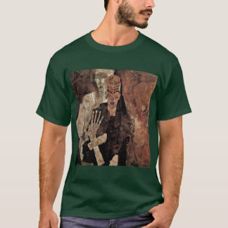 Selbstseher Or Death And Man By Schiele Egon T-Shirt