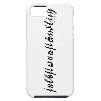 selbstverständlich iPhone SE/5/5s case