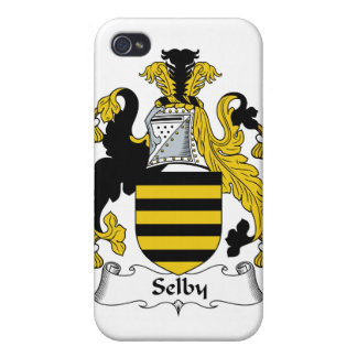 Selby Family Crest iPhone 4 Cases
