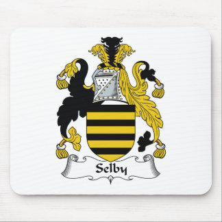 Selby Family Crest Mouse Pad