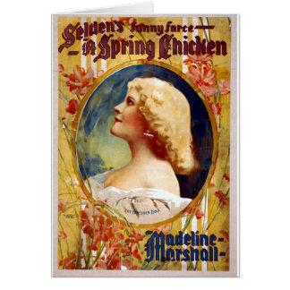 Selden's Funny Farce A Spring Chicken Card