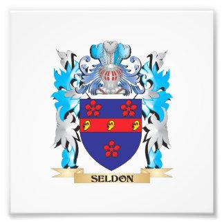 Seldon Coat of Arms - Family Crest Photo Art