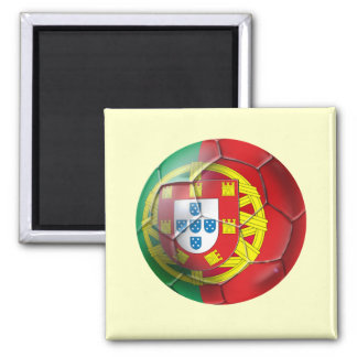 Selecção das Quinas Fuetbol Bola 2 Inch Square Magnet