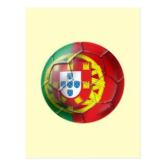 Selecção das Quinas Fuetbol Bola Postcard