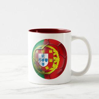 Selecção das Quinas Fuetbol Bola Two-Tone Coffee Mug