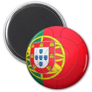 Selecção das Quinas - fútbol de Portugal Imán Redondo 5 Cm