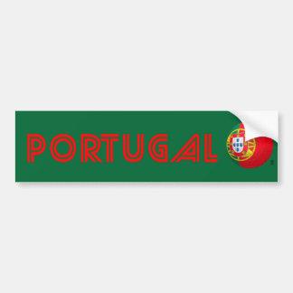 Selecção das Quinas - fútbol de Portugal Pegatina Para Auto