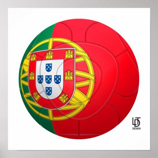 Selecção das Quinas - fútbol de Portugal Poster