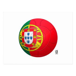 Selecção das Quinas - fútbol de Portugal Tarjeta Postal
