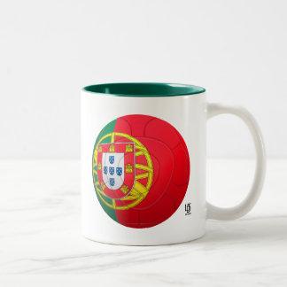 Selecção das Quinas - fútbol de Portugal Taza