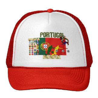Selecção Portuguesa - 32 Paises Futebol Arte Gorras De Camionero