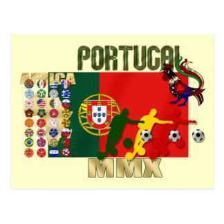 Selecção Portuguesa - 32 Paises Futebol Arte Postcard