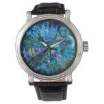 Selección azul de la mandala relojes de mano