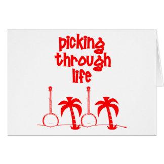 Selección con vida tarjeta