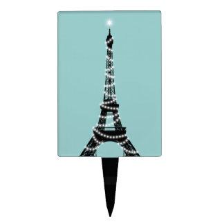 Selección de la torta de la torre Eiffel del cente Decoración Para Tarta