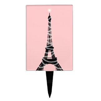 Selección de la torta de la torre Eiffel del cente Palillos De Tarta