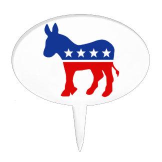 Selección de la torta del burro de Demócrata Figura Para Tarta