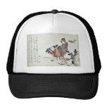 Selección de pinos jovenes por Katsushika, Hokusai Gorras De Camionero