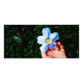 Selección de una flor tarjeta publicitaria personalizada