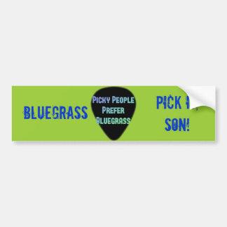 ¡Selección del Bluegrass él hijo! Pegatina Para Auto