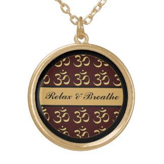 Selección del collar de la meditación de OM su