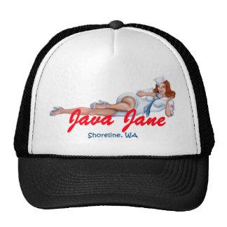 Selección del gorra del camionero de Java Jane su