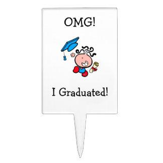 Selección graduada I de la torta de OMG Figura De Tarta